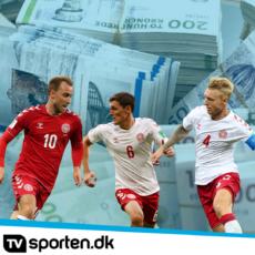 Top-10 bedst betalte landsholdsspillere