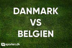Optakt: Nations League – Danmark – Belgien