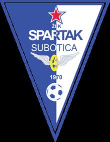 Spartak Subotica logga